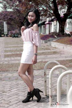 Model Lampung Deta: Yakin Bisa Go International