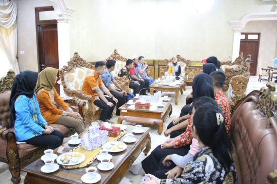 Wakil Gubernur Chusnunia Komitmen Dorong Anak Muda Lampung Kreatif dan Disiplin