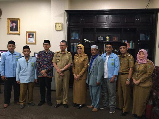 Jumpa Pj Sekda Lampung Fahrizal Darminto, Ade Utami Ibnu Paparkan A Sampai Z Kiprah BKPRMI
