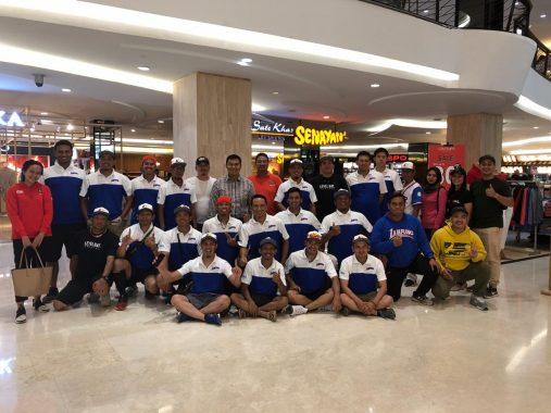 Rycko Menoza Sempatkan Tonton Tim Bisbol Lampung Lumat Jawa Timur dan Lolos ke PON Papua