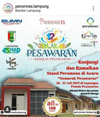 Perumnas Project Lampung Buka Stan Semarak Pesawaran