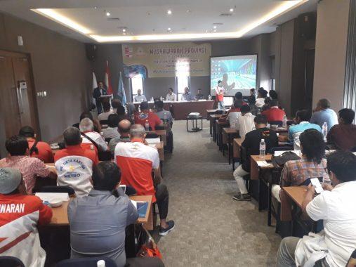 Persatuan Renang Seluruh Indonesia Lampung Gelar Musyawarah Provinsi