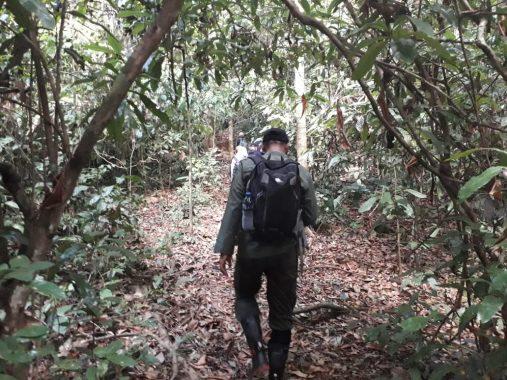 Perjalanan Memasuki Stasiun Penelitian Way Canguk Taman Nasional Bukit Barisan Selatan