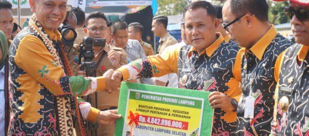 Pekan Daerah KTNA Lampung 2019, Pemprov Lampung Kucurkan Bantuan Rp84 Miliar