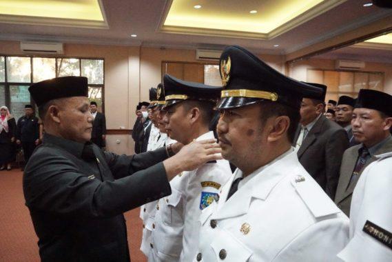 Nanang Ermanto Lantik 123 Pejabat Struktural Pemkab Lampung Selatan