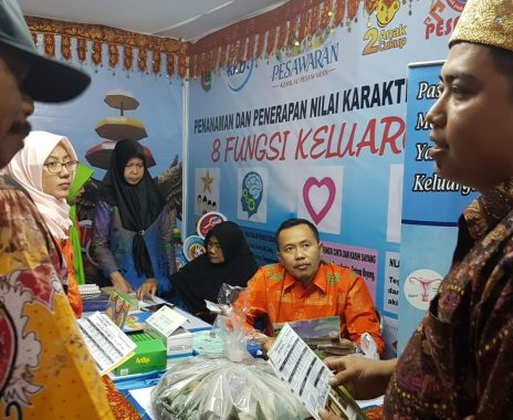Stan Perumnas Lampung Ramai Didatangi Pengunjung Semarak Pesawaran