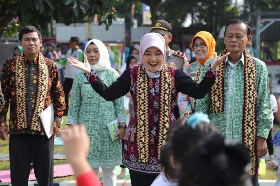 Wakil Gubernur Lampung Chusnunia Chalim Doakan TK Pertiwi Kota Metro Juara Lomba Sekolah Sehat Nasional