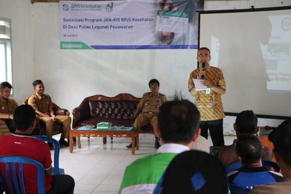 Inspektur Kemenpora Ibnu Hasan Hadiri Pengajian Akbar di Kampung Batu Nangkop Lampung Utara