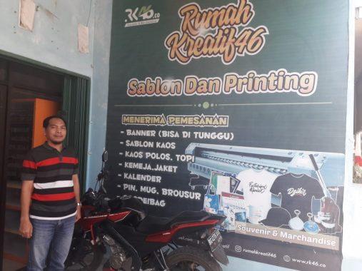 Rumah Kreatif46 Inisiasi Raden Awang Solusi Atasi Pengangguran di Kampungbaru, Emak-Emak dan Anak Muda Direkrut