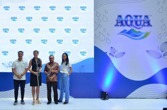 Danone-Aqua Luncurkan Botol 100 Persen Hasil Daur Ulang