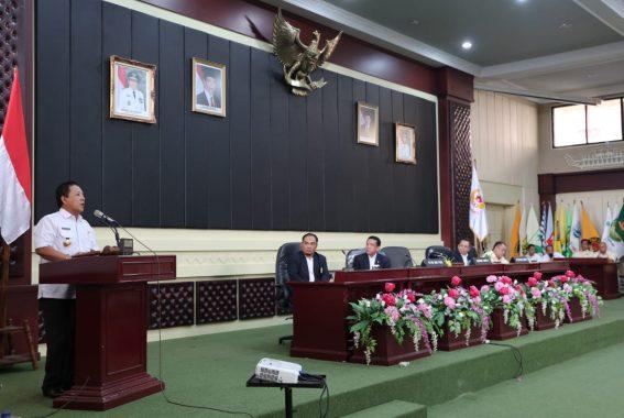 Gubernur Arinal Djunaidi Berharap Ketua Umum KONI Yusuf Sulfarano Bisa Tingkatkan Prestasi Olahraga Lampung