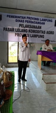 Dinas Perdagangan Lampung Gelar Lelang Komoditas Agro