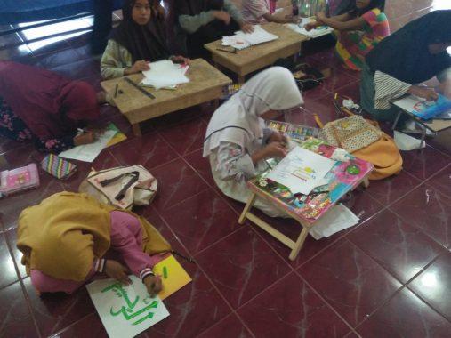 Anak-Anak RT 6 Way Rua Kelurahan Rajabasa Nunyai Semangat Ikut Lomba Islami HUT RI