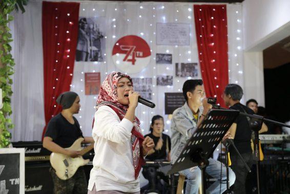Wakil Gubernur Lampung Chusnunia Chalim Sumbang Suara Emas Senandung Kebahagiaan Kemerdekaan