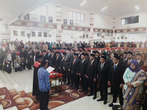 Advertorial: 50 Anggota DPRD Kota Bandar Lampung Diambil Sumpah