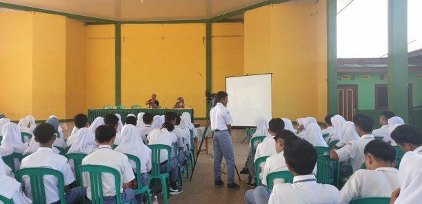 Siswa Jurusan Multimedia SMKN 1 Talangpadang Belajar Jurnalistik