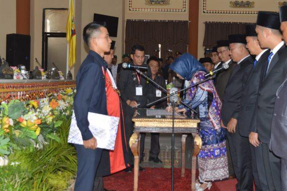 Advertorial: Anggota DPRD Tanggamus Dilantik