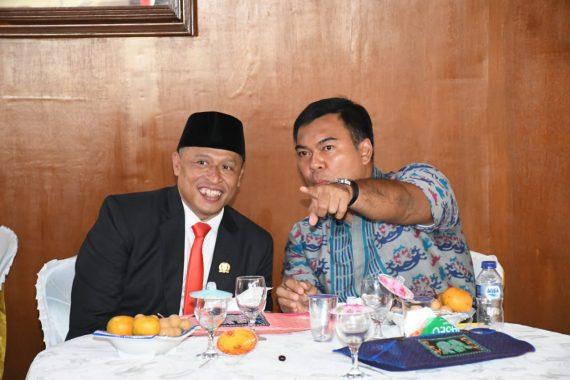 Rycko Menoza Hadiri Tasyakuran Wiyadi, Akankah Keduanya Berpasangan pada Pilkada Bandar Lampung 2020?