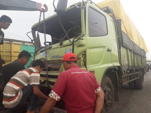 Korban Kecelakaan di By Pass Depan Hotel Nusantara Edi Susanto Warga Tanjunggading Bandar Lampung
