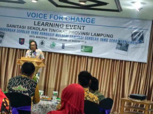 SNV: Ada Anak Pejabat Takut ke Toilet Sekolah