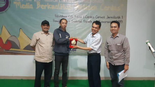 Teknokra Juara 1 Cerdas Cermat Jurnalistik AJI Bandarlampung