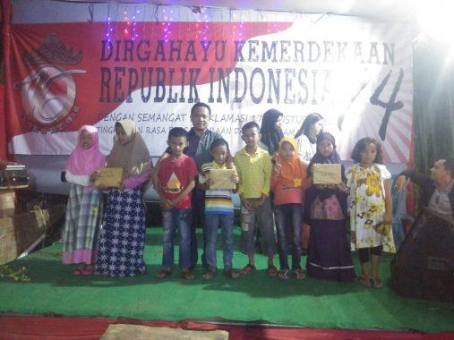 Eratkan Silaturahmi, RT 16 Kemiling Permai Gelar Malam Puncak HUT Kemerdekaan RI