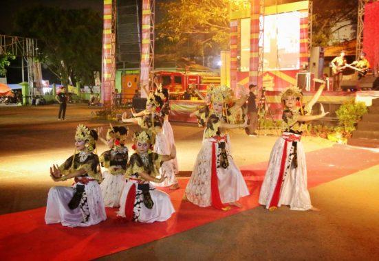 Malam Puncak Festival Krakatau Meriah