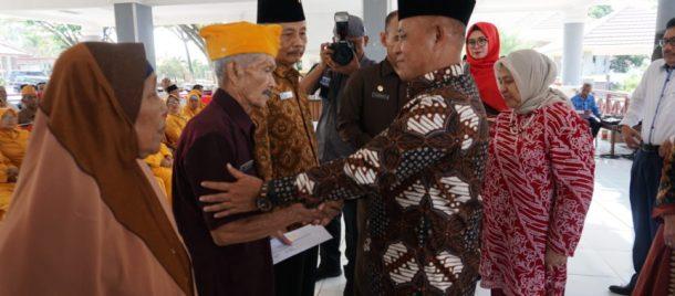 Plt Bupati Lampung Selatan Silaturahmi dengan Pejuang Kemerdekaan