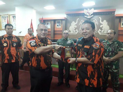 Gubernur Arinal Djunaidi Hadiri Rakerwil Pemuda Pancasila Lampung