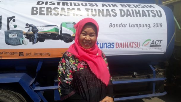 Ajak Daihatsu Kerja Sama Bagikan Air Bersih di Bandar Lampung, Ini Alasan ACT Lampung