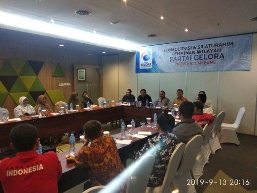 Partai Gelora Lampung Mulai Menggelora