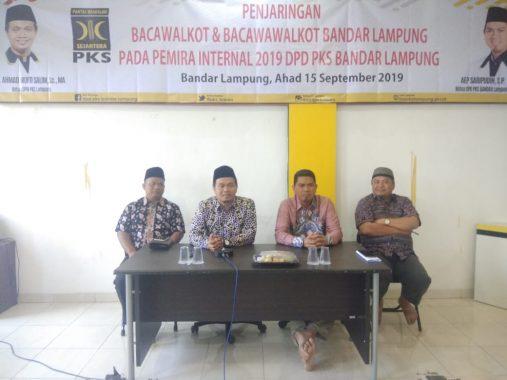 Ahmad Mufti Salim Dorong DPD PKS Bandar Lampung Usung Kader Pada Pilkada Tahun Depan
