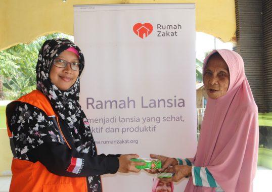 Rumah Zakat Lampung Hadirkan Fasilitas Kesehatan untuk Lansia di Desa-Desa