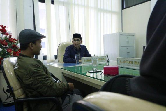 Wakil Ketua Fraksi PKS DPRD Lampung Terima Pegiat Literasi