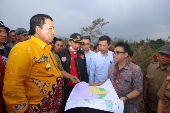 Gubernur Lampung Arinal Djunaidi Tinjau Kawasan Geotermal