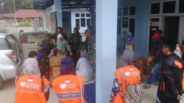 Rumah Zakat Kirim Tim Relawan ke Wamena
