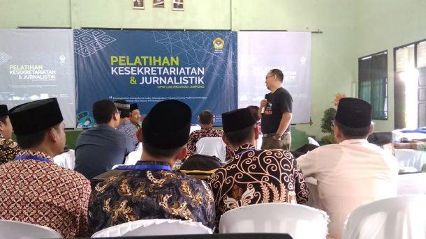 Kader LDII Se-Lampung Antusias Ikuti Diklat Kesekretariatan dan Jurnalistik