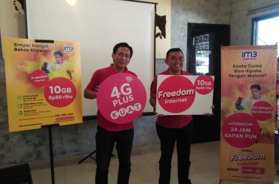 IM3 Ooredoo Luncurkan Paket Freedom Internet