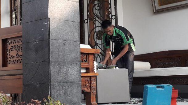 Rumah Bupati Lampung Utara Agung Ilmu Mangkunegara di Jalan Sultan Haji Kotasepang Bandar Lampung Digeledah Petugas KPK