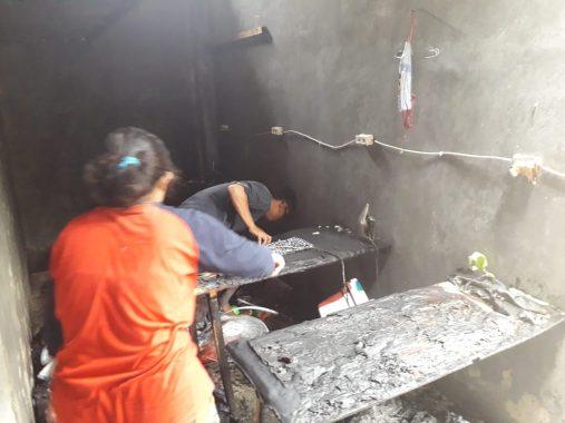 Kebakaran Bunda Laundry di Perumahan BKP, Kerugian Ditaksir Rp200-an Juta