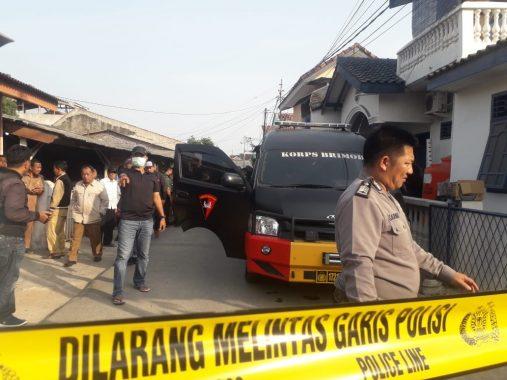 Rumah Nenek Terduga Teroris di Jalan Gunung Dempo Way Halim Digeledah Densus 88