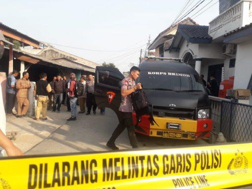 Dari Rumah Nenek Terduga Teroris di Jalan Gunung Dempo Way Halim Disita Bahan Peledak