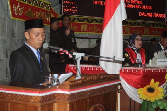 Romli Pimpin DPRD Lampung Utara