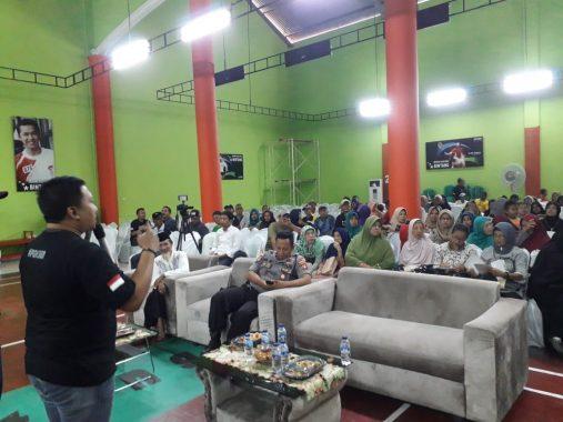 PGN Sosialisasi Keselamatan Penggunaan Gas di Kelurahan Sukamenanti
