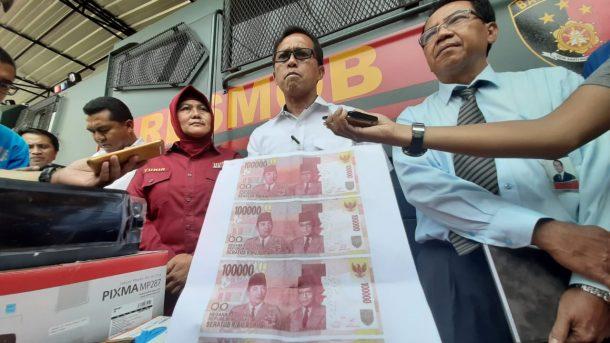 Tiga Tahun Terakhir Peredaran Uang Palsu di Lampung Meningkat