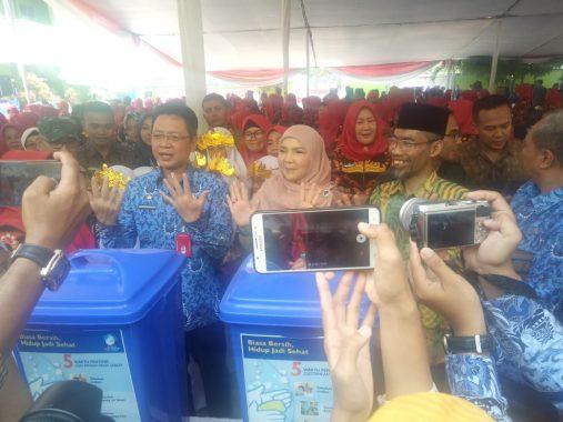 Hadiri Hari Cuci Tangan Sedunia di SDIT Permata Bunda III, Ini Kata Senator Lampung Abdul Hakim