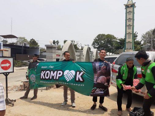 ACT Lampung dan Gojek Sepakat Bikin Sarana MCK di Bakung