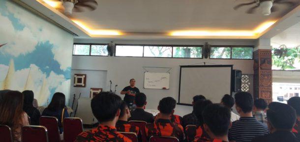 Kader Sapma Pemuda Pancasila Bandar Lampung Ikuti Pelatihan Marketing Digital