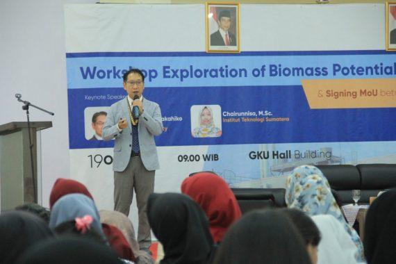 Itera Kerja Sama dengan Universitas Kyushu Jepang Eksplorasi Biomassa