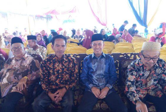 Ketua DPRD Lampung Utara Romli Janji Bikin Ruangan Khusus Wartawan